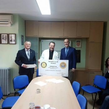 MAMA BUDI TU – RC Rijeka uručio donaciju Klinici za pedijatriju na Kantridi