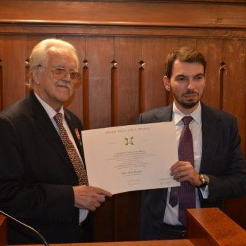 Predsjednik Italije odlikovao Olega Mandića