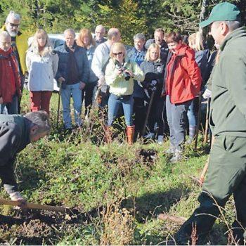 Rotarijanci pošumljavaju područje Sungera