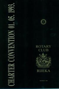 Charter Convention 01. 05. 1993. Publikacije